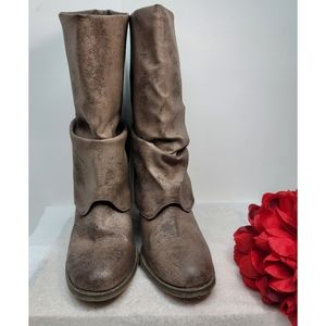 Mia boots Mid calf foldeove size 8.5